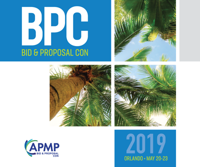 Bid & Proposal Con 2019 – BPC 2019