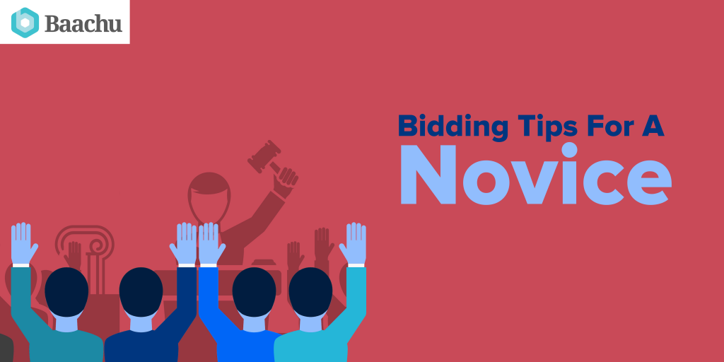 bidding tips for a novice